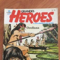 Cómics: COMIC GRANDES HEROES - ORELLANA - PLANETA Nº 8 -1981. EL DESCUBRIMIENTO DEL MUNDO. Lote 169077768