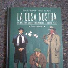 Cómics: LA COSA NOSTRA - PRIMERA EPOCA - ESPECIAL BD. Lote 169149220