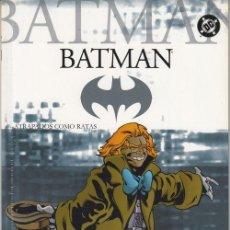 Cómics: BATMAN 39 - DC PLANETA DEAGOSTINI - ATRAPADOS COMO RATAS. Lote 169678312