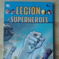 Cómics: LEGIÓN DE SUPERHEROES. LIBRO 1 DE 4. Lote 169803981