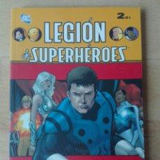 Cómics: LEGIÓN DE SUPERHÉROES. LIBRO 2 DE 4. Lote 169804036