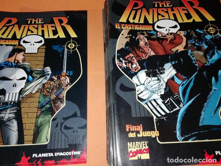 Cómics: THE PUNISHER EL CASTIGADOR. COLECCIONABLE Nº 1 AL 6 Y DEL 12 AL 25. DEFECTOS DE HUMEDAD. - Foto 9 - 170161420