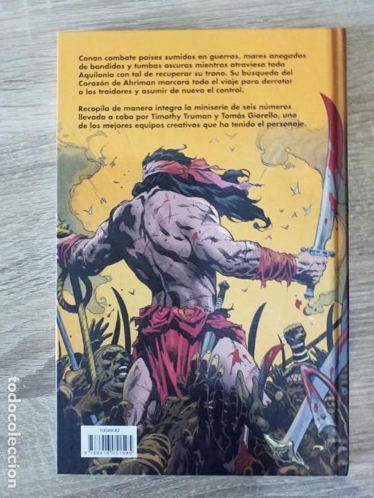 Cómics: CONAN REY EL CONQUISTADOR EXCELENTE ESTADO AGOTADO - Foto 2 - 170226953