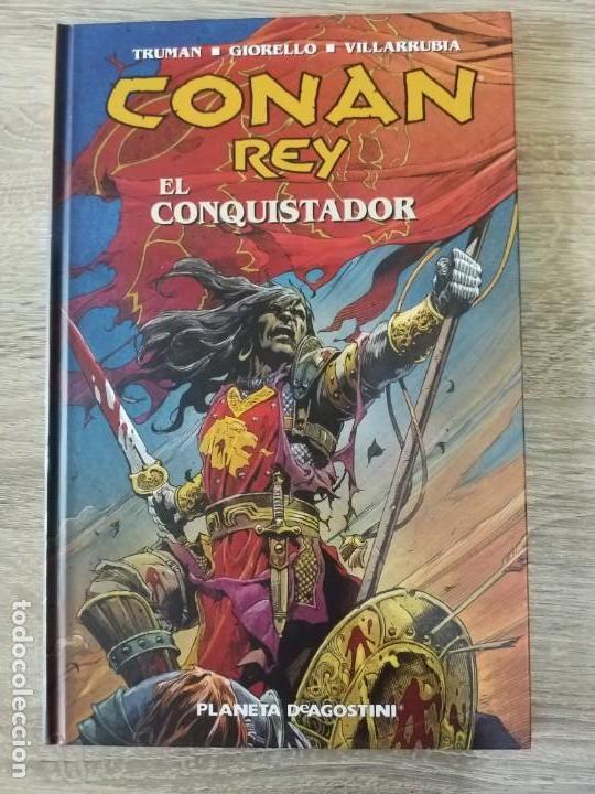 CONAN REY EL CONQUISTADOR EXCELENTE ESTADO AGOTADO (Tebeos y Comics - Planeta)