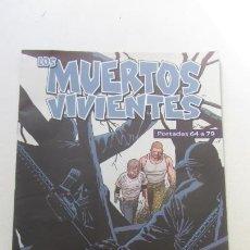 Cómics: PORTADAS LOS MUERTOS VIVIENTES DEL 64 AL 79 PLANETA. CX15. Lote 170420956