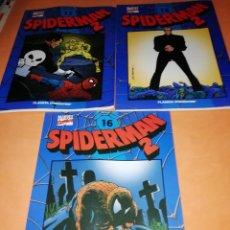 Cómics: SPIDERMAN 2 . COLECCIONABLE AZUL Nº 14, 16 Y 17. PLANETA. Lote 171012832