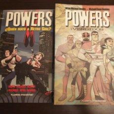 Cómics: POWERS. BENDIS Y OEMING. 6 TOMOS SERIE COMPLETA. Lote 171068984