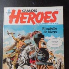 Cómics: GRANDES HEROES Nº 19 EL CABALLO DE HIERRO EDITORIAL PLANETA . Lote 171239323