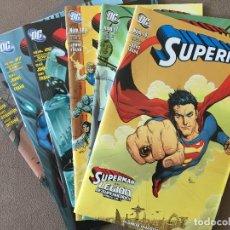Cómics: SUPERMAN. ETAPA GEOFF JOHNS Y GARY FRANK COMPLETA EN ACTION COMICS PRE-FLASHPOINT. LEGION Y BRAINIAC. Lote 171592873