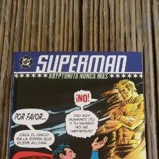 Cómics: SUPERMAN - KRYPTONITA NUNCA MÁS - DENNIS / SWAN. Lote 171680143