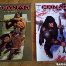 Cómics: CONAN LA LEYENDA NÚMEROS 0 Y 1. Lote 172317429