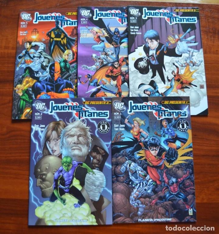 DC PRESENTA: JÓVENES TITANES 1 AL 5 (Tebeos y Comics - Planeta)