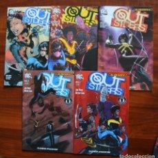 Cómics: DC PRESENTA: OUTSIDERS 1 AL 5. Lote 172445820