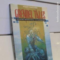 Cómics: GRENDEL TALES CUATRO DEMONIOS, UN INFIERNO MATT WAGNER - WORLD COMICS PLANETA - OFERTA. Lote 172649108