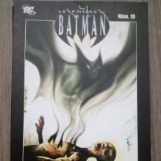 Comics : LEYENDAS DE BATMAN 10 MANBAT COMPLETO DE PLANETA. Lote 172771667