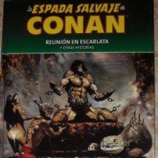 Cómics: LA ESPADA SALVAJE DE CONAN 48 COLECCIONABLE REUNION EN ESCARLATA Y OTRAS HISTORIAS PLANETA AGOSTINI. Lote 172811708