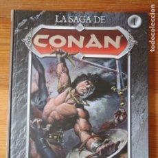 Cómics: COMIC LA SAGA DE CONAN 1 LA LLEGADA DE CONAN PLANETA 2008 TAPA DURA NUEVO. Lote 173258777