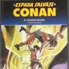 Cómics: LA ESPADA SALVAJE DE CONAN 2 COLECCIONABLE EL COLOSO NEGRO Y OTR HISTORIAS PLANETA. Lote 173586434