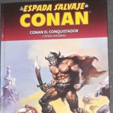 Cómics: LA ESPADA SALVAJE DE CONAN 4 COLECCIONABLE CONAN EL CONQUISTADOR Y OTR HISTORIAS PLANETA. Lote 173587238