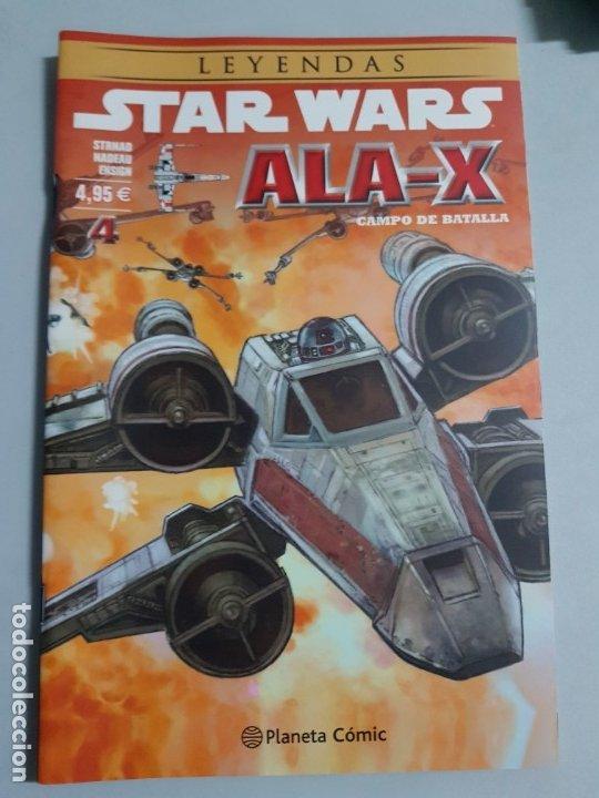 LEYENDAS STAR WARS ALA-X Nº 4 ESTADO NUEVO SIN USAR PLANETA PRECIO NEGOCIABLE MIRE MAS ARTICULOS (Tebeos y Comics - Planeta)