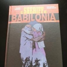Cómics: INTEGRAL EL SHERIFF DE BABILONIA - TOM KING - ECC. Lote 173649680