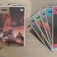 Cómics: BATMAN VOLUMEN 1 COMPLETO EN 12 TOMOS (1+2+3+4+5+6+7+8+9+10+11+12) RÚSTICA PLANETA. Lote 173670590