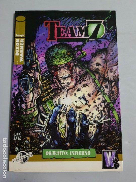 TEAM 7 ESTADO MUY BUENO PLANETA MAS ARTICULOS NEGOCIABLE (Tebeos y Comics - Planeta)