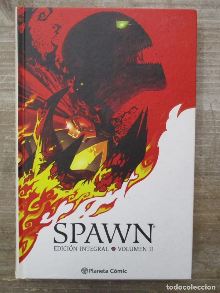 SPAWN - EDICION INTEGRAL - Nº 2 - Nº II - TOMO TAPA DURA - PLANETA (Tebeos y Comics - Planeta)