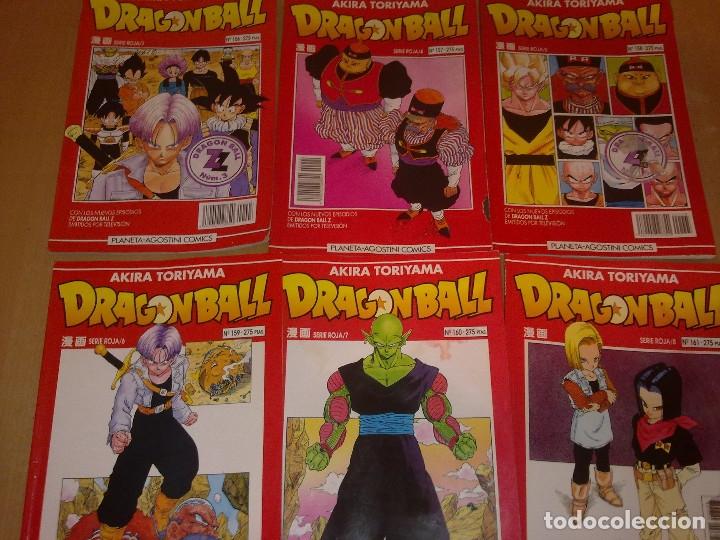 LOTE DRAGON BALL SERIE ROJA Nº 155 AL 161 (ENVIO GRATIS) (Tebeos y Comics - Planeta)