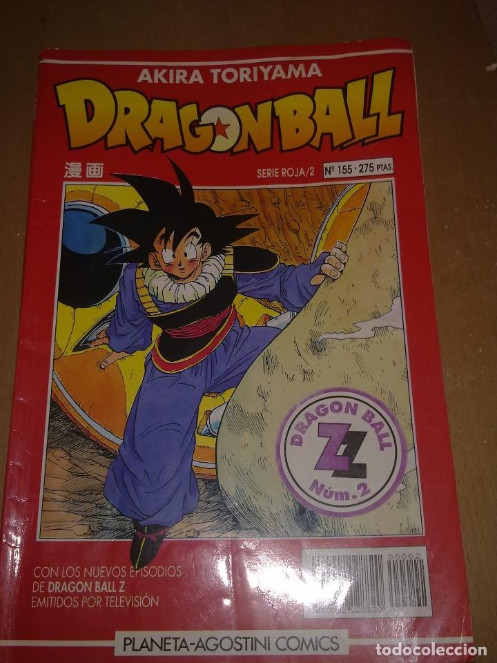 Cómics: LOTE DRAGON BALL SERIE ROJA Nº 155 AL 161 (ENVIO GRATIS) - Foto 2 - 173871200