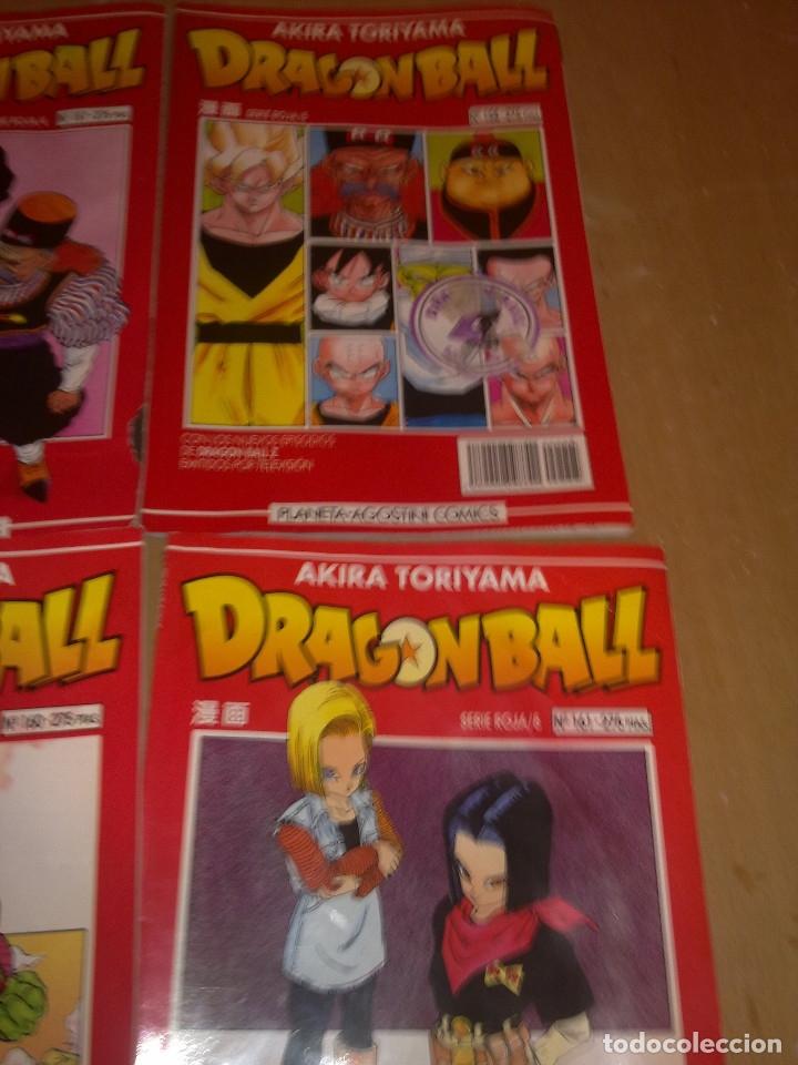 Cómics: LOTE DRAGON BALL SERIE ROJA Nº 155 AL 161 (ENVIO GRATIS) - Foto 3 - 173871200