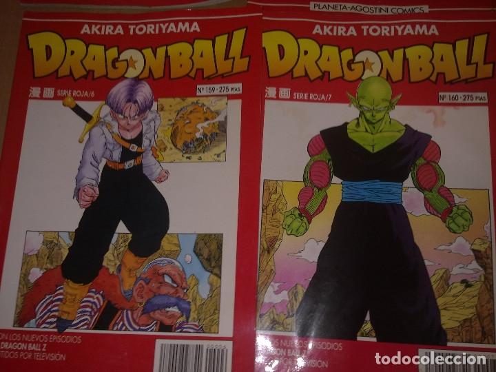 Cómics: LOTE DRAGON BALL SERIE ROJA Nº 155 AL 161 (ENVIO GRATIS) - Foto 5 - 173871200