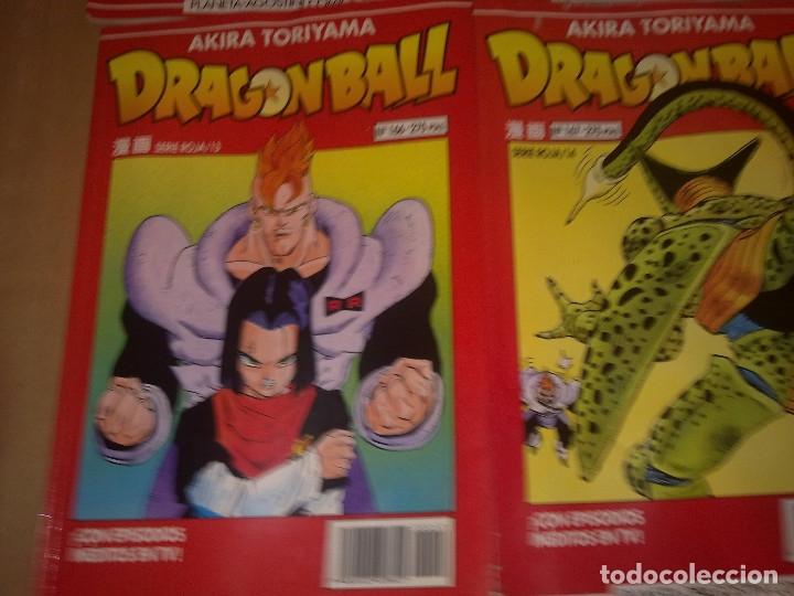 LOTE DRAGON BALL SERIE ROJA Nº 163-164-166 Y 167 (ENVIO GRATIS) (Tebeos y Comics - Planeta)