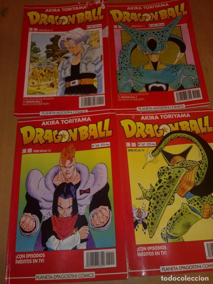 Cómics: LOTE DRAGON BALL SERIE ROJA Nº 163-164-166 y 167 (ENVIO GRATIS) - Foto 2 - 173871505
