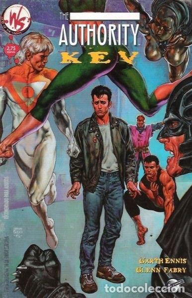 COMIC014 THE AUTHORITY KEY (Tebeos y Comics - Planeta)