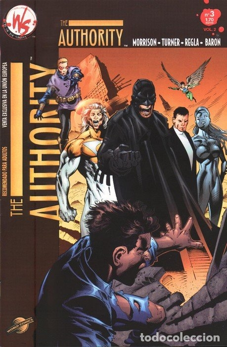 COMIC014 THE AUTHORITY Nº3 VOL.2 (Tebeos y Comics - Planeta)