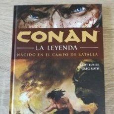 Cómics: CONAN LA LEYENDA Nº 0 NACIDO EN EL CAMPO DE BATALLA 00 00/12 IMPECABLE. Lote 174347042