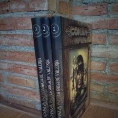 Comics: CONAN LA SAGA DE VALERIA COMPLETA IMPECABLES. Lote 192580783