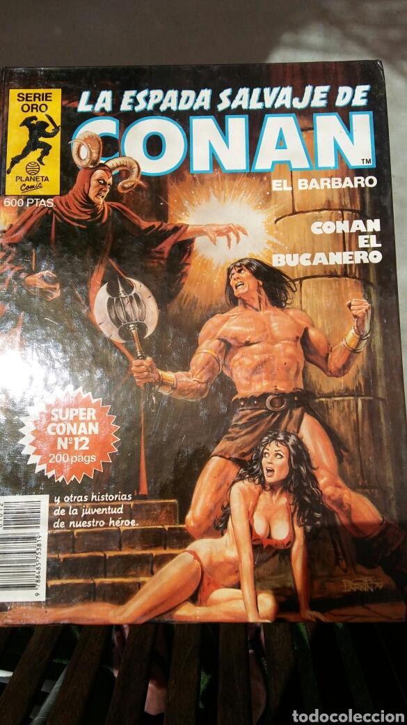 Cómics: 16 tomos la espada salvaje de Conan el bárbaro serie oro planeta 1 ediccion coleccion completa - Foto 6 - 174965828