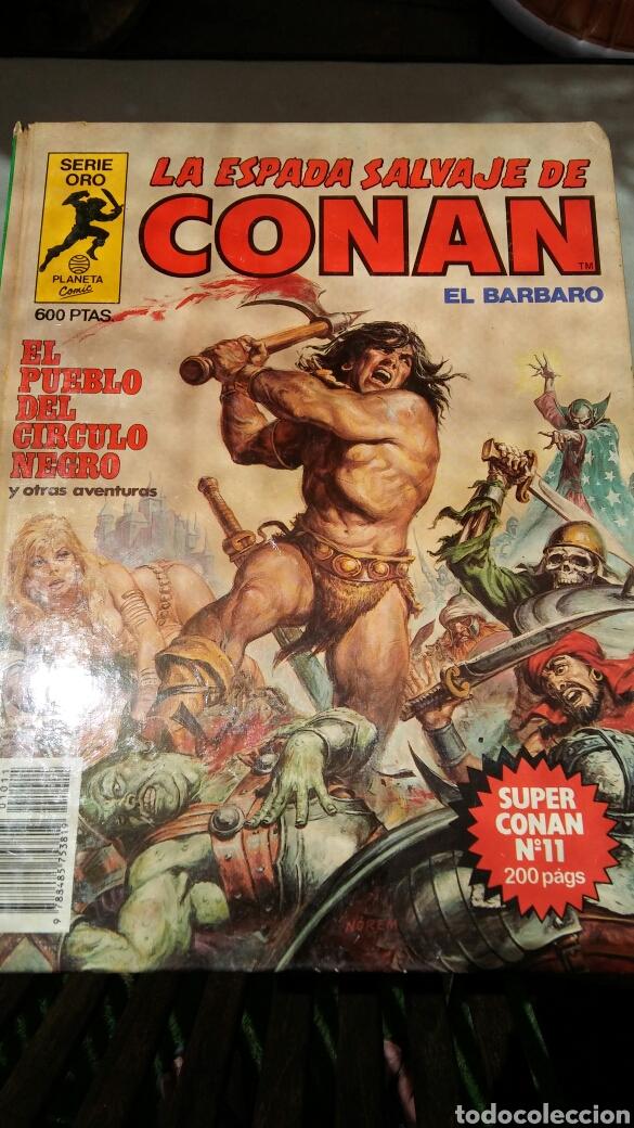 Cómics: 16 tomos la espada salvaje de Conan el bárbaro serie oro planeta 1 ediccion coleccion completa - Foto 7 - 174965828