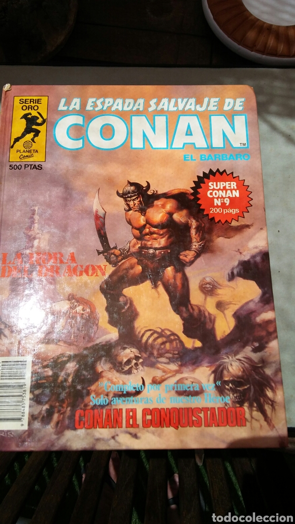 Cómics: 16 tomos la espada salvaje de Conan el bárbaro serie oro planeta 1 ediccion coleccion completa - Foto 9 - 174965828