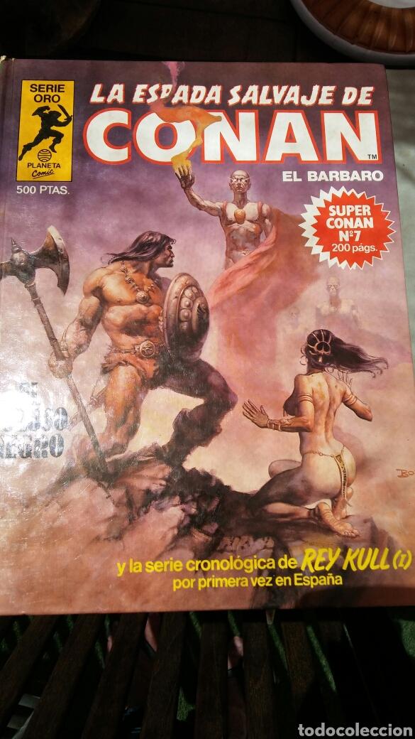 Cómics: 16 tomos la espada salvaje de Conan el bárbaro serie oro planeta 1 ediccion coleccion completa - Foto 11 - 174965828