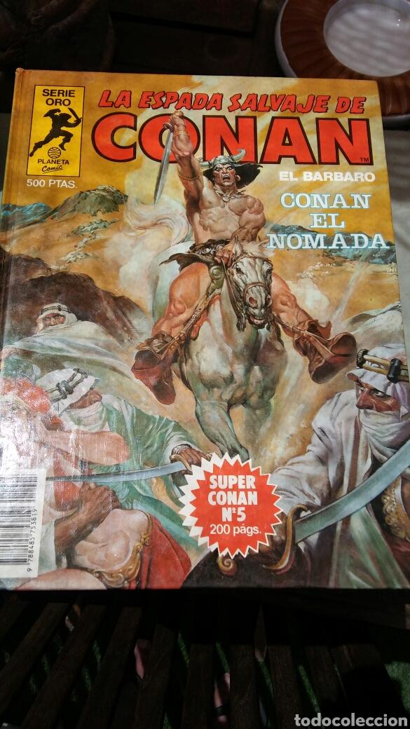 Cómics: 16 tomos la espada salvaje de Conan el bárbaro serie oro planeta 1 ediccion coleccion completa - Foto 13 - 174965828