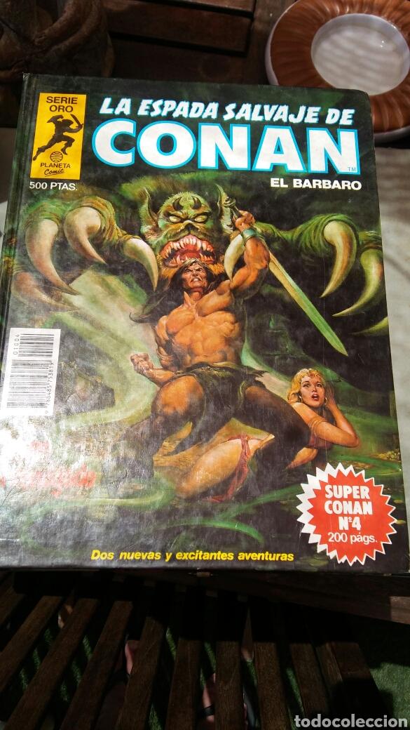 Cómics: 16 tomos la espada salvaje de Conan el bárbaro serie oro planeta 1 ediccion coleccion completa - Foto 14 - 174965828