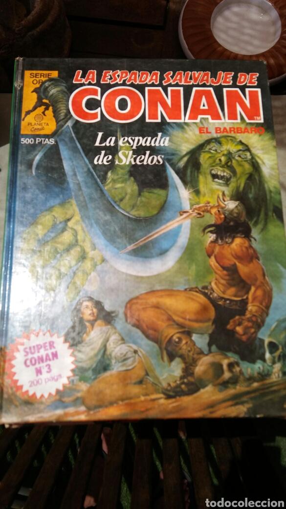 Cómics: 16 tomos la espada salvaje de Conan el bárbaro serie oro planeta 1 ediccion coleccion completa - Foto 15 - 174965828