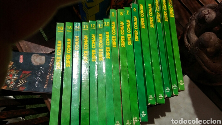 16 TOMOS LA ESPADA SALVAJE DE CONAN EL BÁRBARO SERIE ORO PLANETA 1 EDICCION COLECCION COMPLETA (Tebeos y Comics - Planeta)