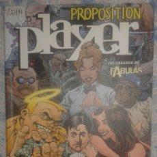 Cómics: PROPOSITION PLAYER: VERTIGO: PLANETA. Lote 86321724