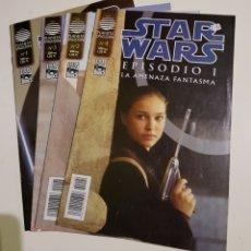 Comics: STAR WARS EPISODIO I LA AMENAZA FANTASMA - 1 2 3 4 - COMPLETA - PLANETA. Lote 175365638