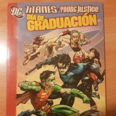Cómics: TITANES/YOUNG JUSTICE: DÍA DE GRADUACIÓN - TOMO - PLANETA - DESCUENTO 10%¡¡¡. Lote 243905730