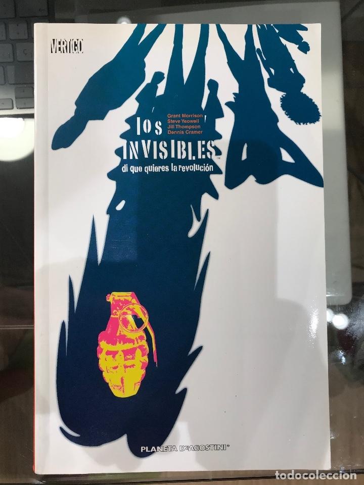 LOS INVISIBLES - DI QUE QUIERES LA REVOLUCIÓN (Tebeos y Comics - Planeta)